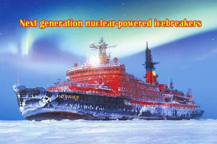 Russia launches nuclear-powered icebreaker