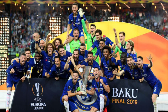 Chelsea beat Arsenal to win UEFA Europa League