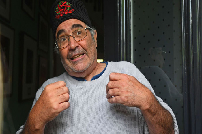 Danny Baker receives standing ovation after taking to stage for first time after BBC sacking