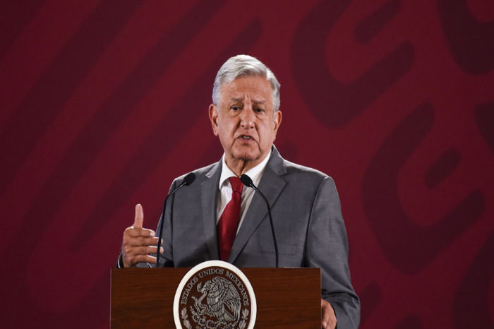 Mexico leader says will hold tariff talks with Trump 'if necessary'