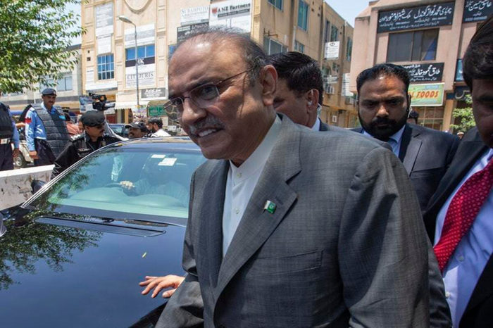 Pakistani former president Asif Ali Zardari arrested in money laundering case