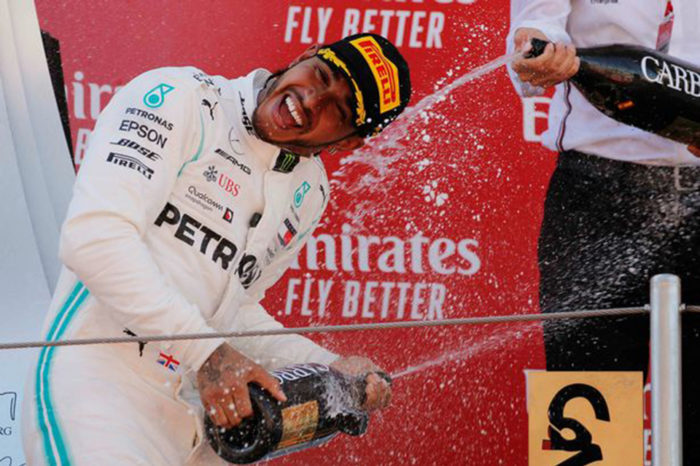 Boy who inspired Lewis Hamilton to victory dies weeks after F1 ace's gesture