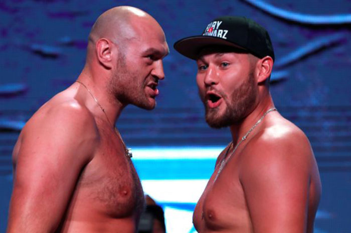 Tyson Fury makes bold prediction for tonight's Tom Schwarz fight
