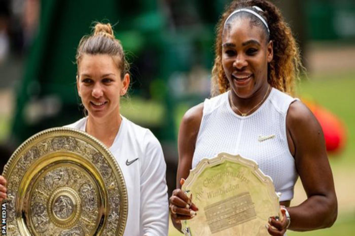Serena Williams says she is not overburdened by history after Wimbledon defeat