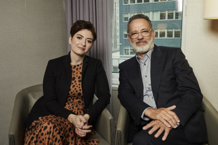 Tom Hanks didn't want to be Mr. Rogers. Then he met Marielle