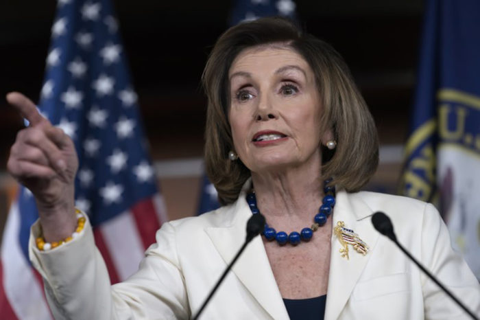 'It's really sick': Nancy Pelosi responds to Trump's wildly inaccurate letter on the eve of his likely impeachment