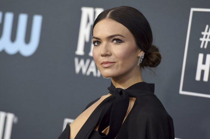 Mandy Moore announces birth of son 'right on his due date'