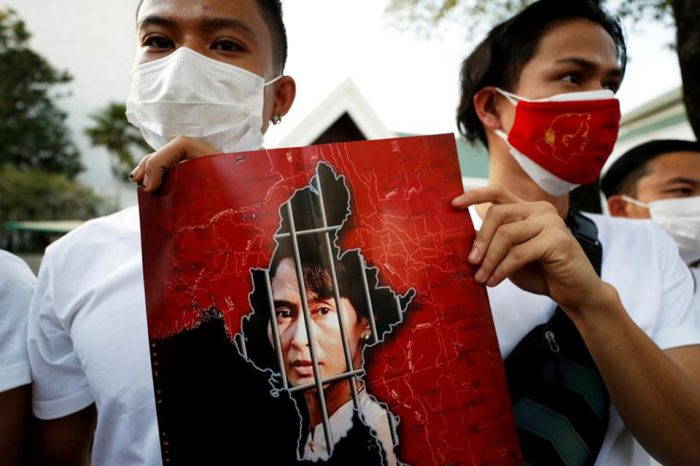 Myanmar blocks access to Facebook as international pressure on junta grows