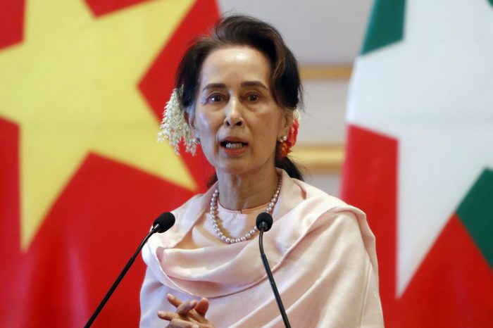 Myanmar's ousted leader Suu Kyi charged with 'illegally importing walkie-talkies'