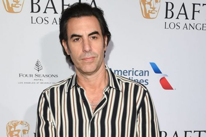Sacha Baron Cohen ditches undercover characters after fearing for his life at gun rally
