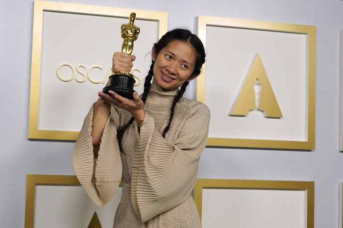 Oscars: 'Nomadland' wins best picture and its director Chloe Zhao makes history