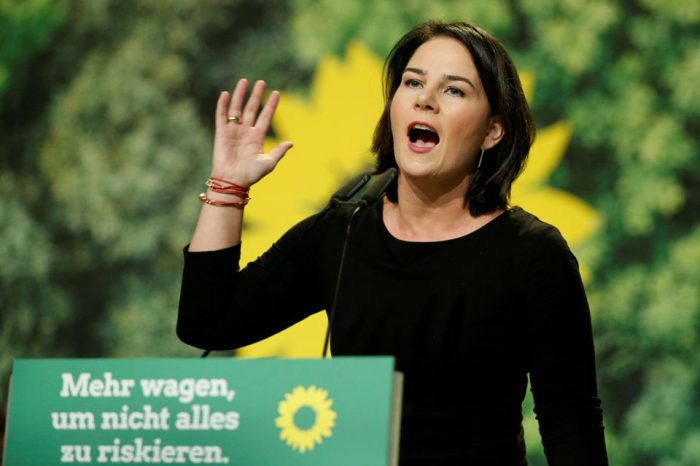 Promising change, Germany's Greens make first bid for chancellery