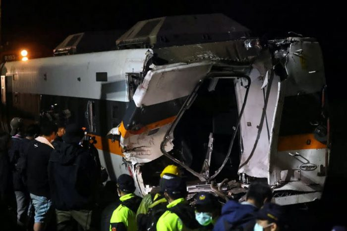 Taiwan's transport minister to step down following catastrophic train crash