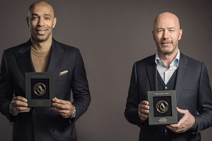 Alan Shearer and Thierry Henry the first inductees into Premier League Hall of Fame