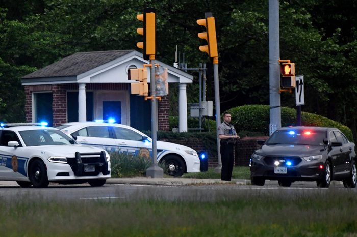 Armed man shot after standoff outside CIA headquarters in Virginia