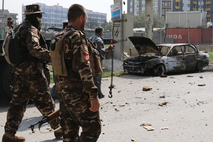 Rockets land near Afghan presidential palace as country marks start of Eid al-Adha